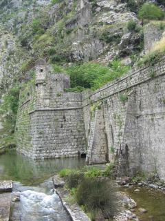 Kotor Old Town city wall