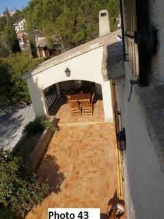 villa rent in Drôme Nyons 4-8 persons with private heated swimming pool, free WIFI, BBQ