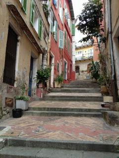 located in the heart of the ancient village, just steps from splendid beaches, cafes & shops...