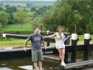 Just 10 Min walk  up river you will arrive at the first Lock on the Barrow Line