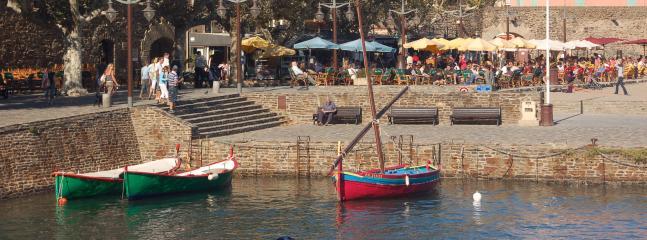 Fishing village on Mediterranean