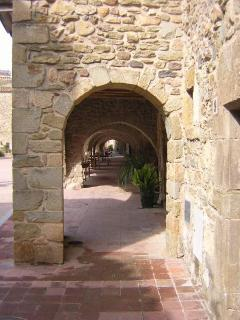 Explore medieval villages such as Monells just over the hill