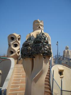 Barcelona & the art of Gaudi is just 35 mins away by train from Girona