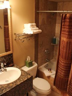 Bunk room en suite bathroom