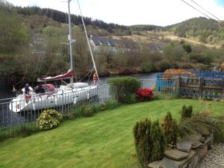The View from Cairnbaan Cottage Garden