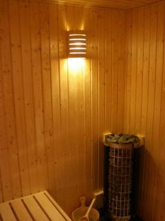 Enjoy the rejuvenating, refreshing and relaxing experience of a real Finnish sauna whenever you like