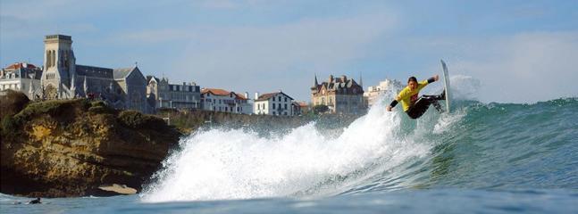 Le surf à Biarritz