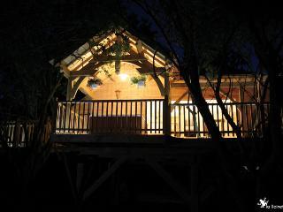 Cabane et Spa de Luxe dans les arbres
