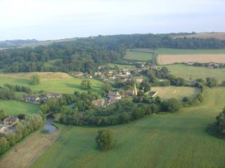 Aerial view of Compton Pauncefoot