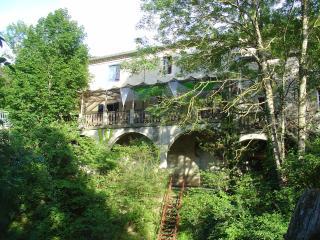 La terrasse derriere la maison
