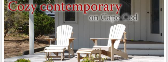 Enter our cozy Cape Cod Contemporary...