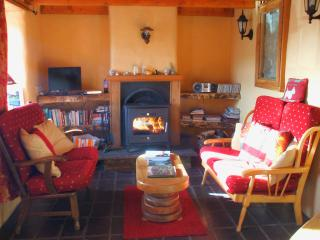 Sitting Room in Old Pub Cottage. Free logs for fire provided during your stay