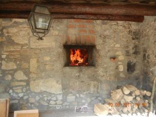 Il forno a legna esterno