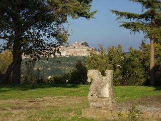 Il panorama sul borgo medievale di Amelia