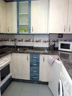 kitchen (1-bedroomed apartment)