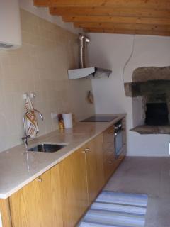 Cozinha (vista parcial de bancada)
