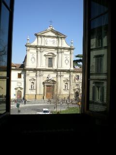 Vista della Chiesa di San Marco dall'appartamento