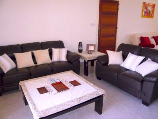 Tastefully furnished living area