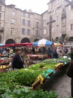Villefranche de Rouergue's famous thursday market