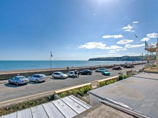'Seaspray', Seaton seafront, first floor apartment with parking