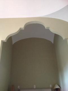 Detalle techos habitación alcoba doble