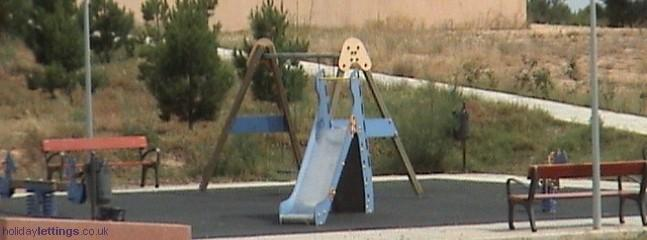 Childs local play park