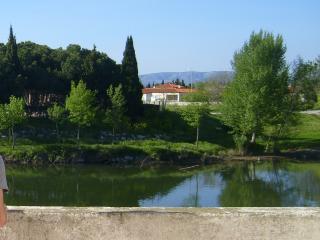 Rivesaltes, belle terrasse, Perpignan