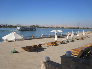 River Nile terrace