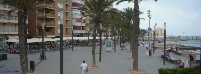 Promenade at Torrevieja