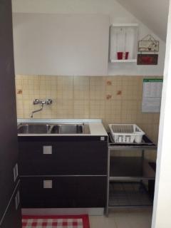 the kitchen, ground floor