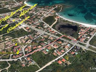 Bilocale 2/4 posti letto Pittulongu,350m mare, Golfo Aranci
