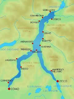 Piantina Lago di Como...............................................................................