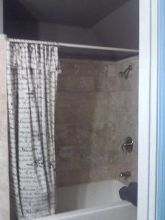 Loft shower/tub