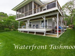 HOMAR - Waterfront, Tashmoo Beachfront, A/C, Vineyard Haven
