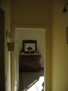 View of the main double room