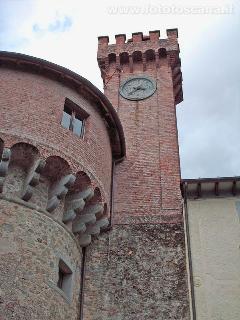 The fortress of Castiglione di Garfagnana