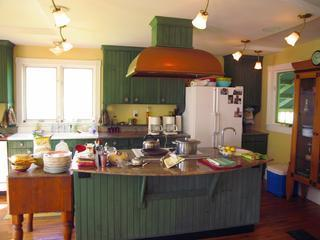 gourmet country kitchen