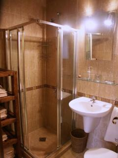 Shower room and separate WC