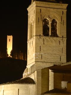 San Severino (2,5 kms away) - the towers