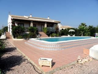Stunning villa private pool air-con fabulous views, Catral