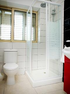 En-Suite with Rain Shower