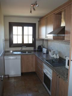 Kitchen with modern appliances Inc Dishwasher