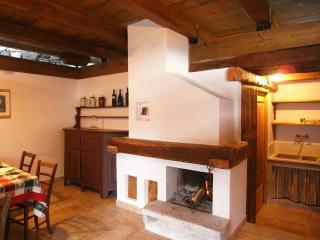 house 'Casa del Sordo' fire place