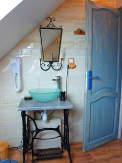Salle de bain de la chambre du Meunier