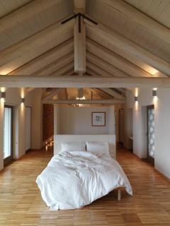 Master Bedroom enjoys panoramic views