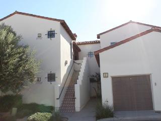 Villa Rear Entrance and Private Garage