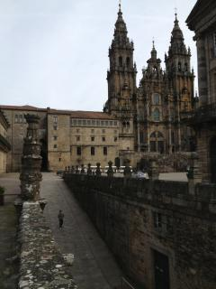 access to Obradoiro square & Cathedral