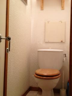Separate WC, always an advantage in a ski apartment where there are often plenty of people staying