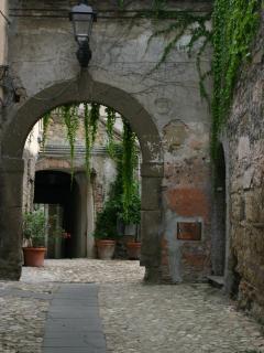 Outside Casa Galilei