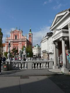 Ljubljana - the charming capital of Slovenia - half an hour away